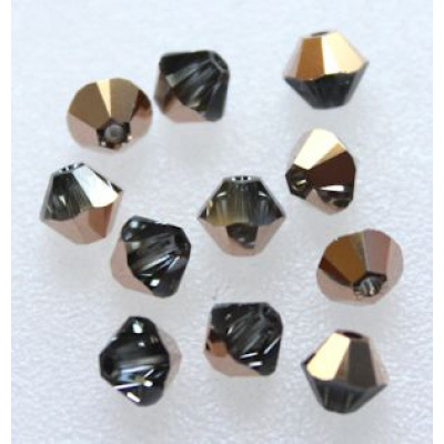 Swarovski bicone 4 mm Crystal Rose Gold