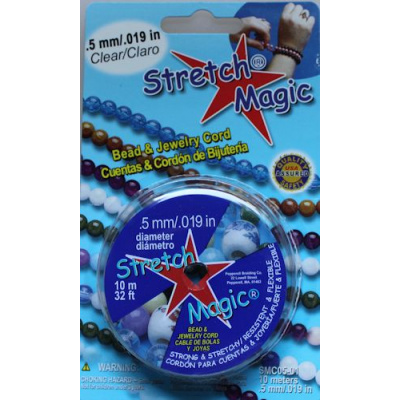 Stretch Magic joustolanka 0,5 mm kirkas 10 m