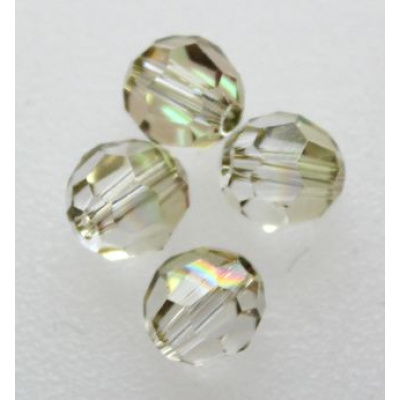 Swarovski pyöreä kristallihelmi 6 mm Crystal Luminous Green