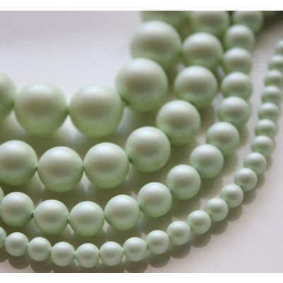 Swarovski Crystal 6 mm Pastel Green Pearl