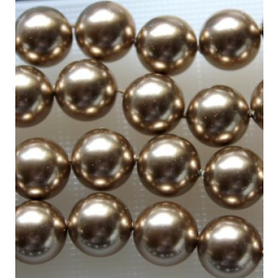 Swarovski Crystal 4 mm Bronze Pearl