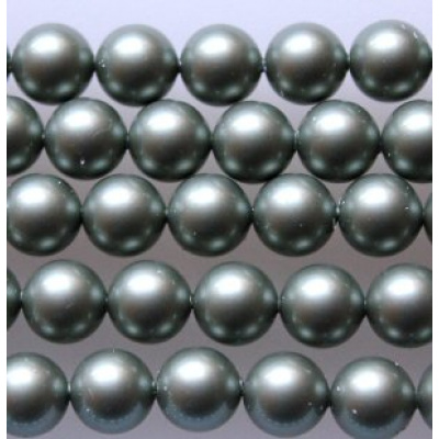 Swarovski Crystal 10 mm Powder Green Pearl
