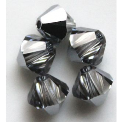 Swarovski bicone 4 mm Crystal Light Crome