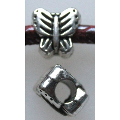 Pandora metallihelmi perhonen 11x11x8 mm