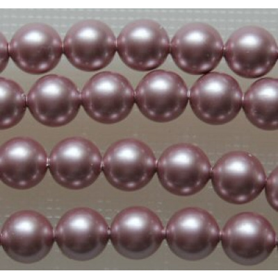 Swarovski Crystal 6 mm Powder Rose Pearl