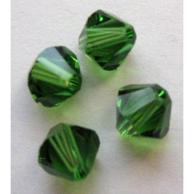 Swarovski bicone 4 mm Fern Green