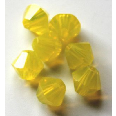 Swarovski bicone 4 mm Yellow Opal