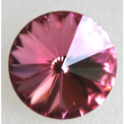 Swarovski rivoli 10.7 mm Rose