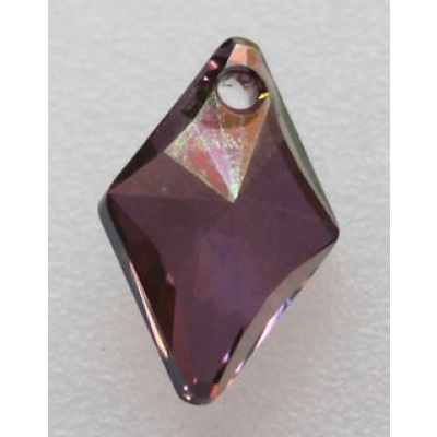 Swarovski rhombus riipus 14 mm Crystal Lilac Shadow