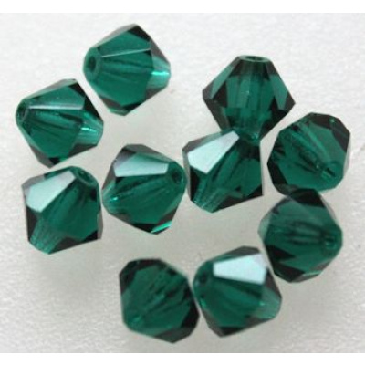 Preciosa bicone 4 mm Emerald