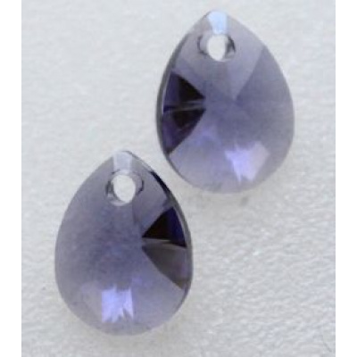 Swarovski xilion pear riipus 8 mm Tanzanite