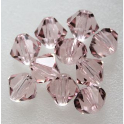Preciosa bicone 4 mm Light Rose