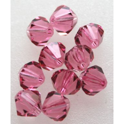 Preciosa bicone 4 mm Rose