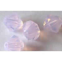 Swarovski bicone 4 mm Rose Water Opal