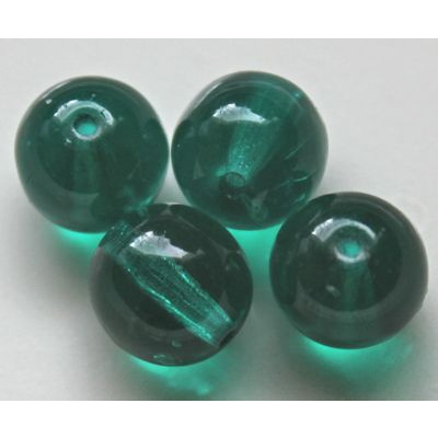 Lasihelmi 8 mm emerald