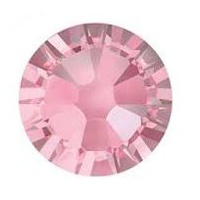 Swarovski Xilion Rose strassi SS34 Light Rose