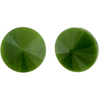 Matubo rivoli 12 mm green pearl