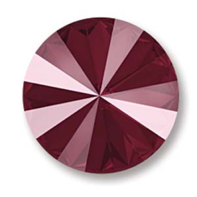 Swarovski rivoli 12 mm Crystal Dark Red