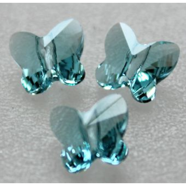 Swarovski perhonen 6 mm Light Turquoise