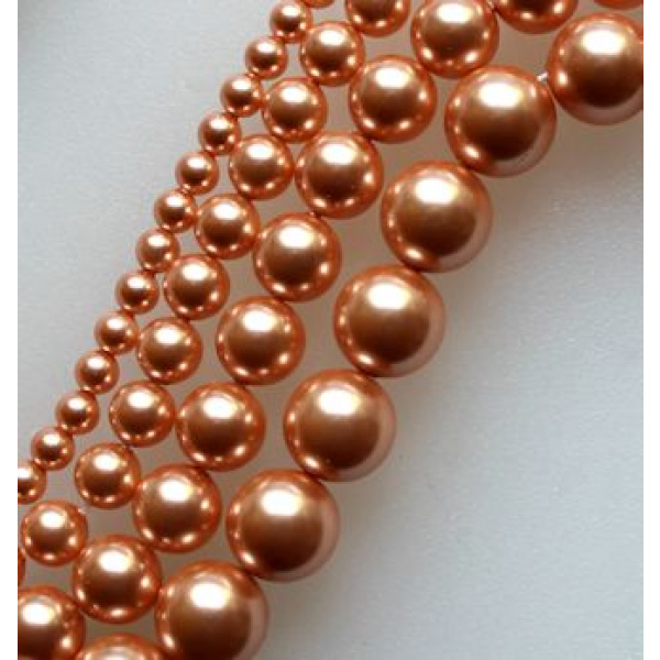 Swarovski Crystal 4 mm Rose Peach Pearl