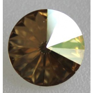 Swarovski rivoli 10.7 mm Crystal Golden Shadow