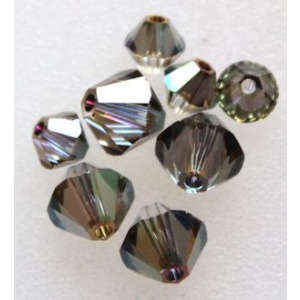Swarovski bicone 4 mm Crystal Iridescent Green