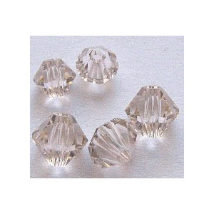 Swarovski bicone 4 mm Silk