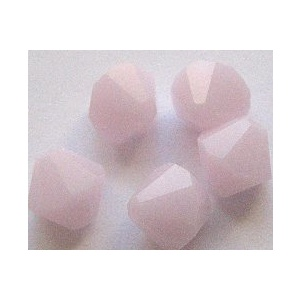 Swarovski bicone 4 mm Rose Alabaster 10 kpl